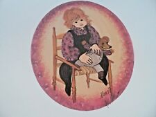 """P Buckley Moss Limited Edition Matted Print """"Sam's Bear"""" - Rare"""