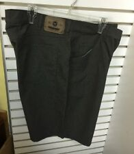 "Wrangler Originals Irregular men's Short 100% cotton Gray, size 34  22"" Long#4"