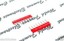 10pcs - Beckman 8.2K (8K2) 8P7R SIP-8 Network Resistor - M8-1-822