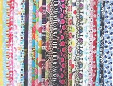 2.5 inch Jelly Roll 100% cotton fabric quilting strips 30 PIECES name brands