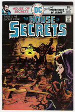 (1975) DC COMICS THE HOUSE OF SECRETS #134 BERNI WRIGHTSON ART! 4.5 / VERY GOOD+