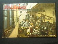 Machine File Cutters, Sheffield, Postcard