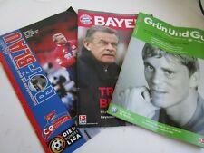 More details for 3 german league match programmes bayern munich, wolfsburg and spvgg unterhaching