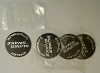 Shelby GT500 Super Snake Wheel Center Cap Decal Inserts - BRAND NEW SET of FOUR!