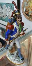 Circa 1920 S. Slavicek Porcelain French Infantry Soldier Figurine Made in France