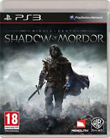 MIDDLE EARTH: SHADOW OF MORDOR - PS3 PLAYSTATION 3 - NEW & SEALED