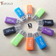 Mini USB 2.0 Micro SD TF T-Flash Memory Card Reader Kartenlesegerät Adapter