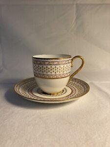 Vintage Cauldon china Replica Cup And Saucer