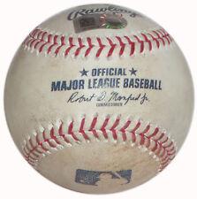 REDS @ YANKEES GAME USED BALL 7/25/17 TODD FRASIER TRIPLE PLAY GREGORIUS HOMERUN