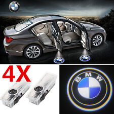 4x Car Door Step Logo LED Projector Ghost Shadow Lights for BMW E90 E60 F10 3 5