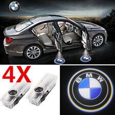 4X LED Car Door Laser Projector Shadow Logo Light For BMW E60 E90 Z4 E61 E63 E65