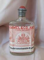 19C. ANTIQUE GERMAN ALCOHOL ESSENCE CONCENTRATE GLASS BOTTLE