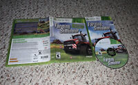 Farming Simulator (Microsoft Xbox 360, 2013) Complete Tested