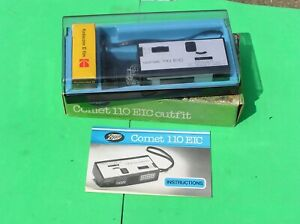 Vintage Boots Comet 110 EIC Compact Camera. In Original Box with instructions