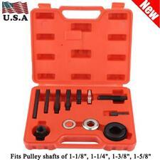 13 Pcs Power Steering Pump Remover Alternator AC Pulley Puller & Installer Set