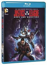 Justice League . Gods And Monsters . DC Universe . Animated . Blu-ray . NEU