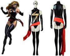 Original Captain Marvel Ms.Marvel Carol Danvers Cosplay Costume