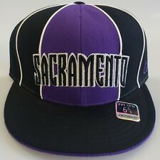 NEW! NBA Sacramento Kings  Embroidered  Fitted Cap Size 6 7/8