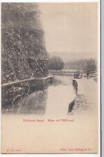 Sweden; Dalslands Canal, Sluss Vid Hafverud PPC, Unposted, UB, c 1900-05