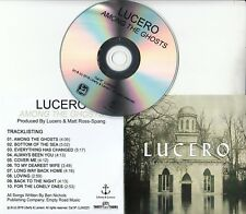 LUCERO Among The Ghosts 2018 UK 10-track promo test CD