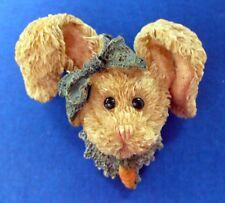 Boyds Pin Easter Vintage Bunny Amella Rabbit Carrot Bearwear Holiday Brooch
