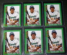 2010 Cedar Rapid Kernels MIKE TROUT Rookie Baseball Card LOT (6) RC #3 PSA 10??