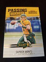 2017 Panini Contenders Draft Picks Passing Grades #6 Carson Wentz Football Card