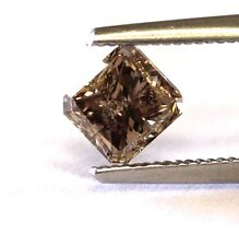 GIA Certified radiant diamond 1.22ct I3 dark yellowish brown 5.80x5.47x4.62mm