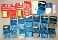 17pc Vintage 1970s Strombecker 1/32 1:32 Slot Car CHASSIS AXLES PARTS 552 Unused
