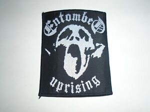 ENTOMBED UPRISING WOVEN PATCH