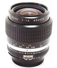 Nikon 35mm f/1.4 Nikkor AIS lens MINT-