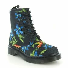 Dr. Martens Canvas Floral Boots for Women