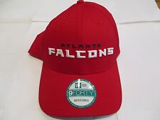 ATLANTA FALCONS RED 9FORTY CAP BY NEW ERA SIZE  ADULT ADJUSTABLE BRAND NEW