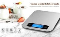 Kitchen Digital Postage Baking Cooking Scale Stainless Steel 22 lb/10 Kg