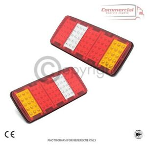 LED REAR TAIL LIGHTS LAMPS FOR  SMALL TRUCK VAN MERC VW FIAT IVECO FORD RENAULT
