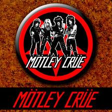 Motley Crue - Band 1983 New Badge Button Chapa Pin 38mm The Dirt
