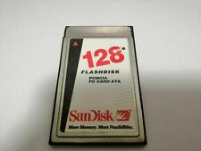 SanDisk   128mb PCMCIA PC Card ATA