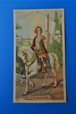 Santino Holy Card Heiligenbild Santo Alessandro Martire Patrono Brescia NB