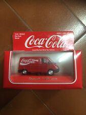 camion metal renault trafic1994 avec pub coca cola 1/43