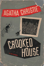 VINTAGE MYSTERY: CROOKED HOUSE By AGATHA CHRISTIE ~ HC/DJ 1949