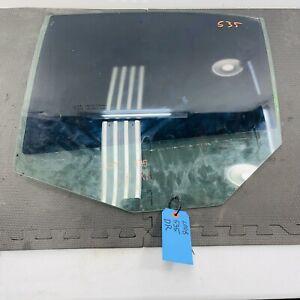 🥇04-10 BMW 535i E60 Driver Left Rear Door Window Glass OEM 43R-00049