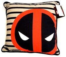 "Marvel DEADPOOL 14""x14""  Decorative Pillow - New with Tags"