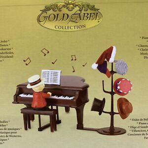 Mr. Christmas Teddy Takes Requests Piano Music Box  Original Box 2006