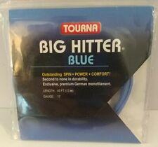 Tourna BIG HITTER Blue 17 Gauge 40ft Tennis String - (NIP)