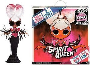LOL Surprise OMG Movie Magic Spirit Queen Fashion Doll with 25 Surprises AusPost