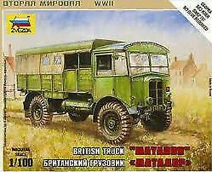 British WWII Camion Matador Plastique Kit 1:72 Model Zvezda