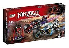 Lego Ninjago 70639 La Course de rues en moto - Jeu de construction 7-14 ans