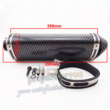 38mm Exhaust Muffler Removable Silencer For Chinese Pit Dirt Bike ATV Motorcycle