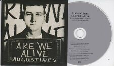 AUGUSTINES ARE WE ALIVE RARE 1 TRACK PROMO CD