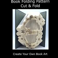 Book Folding Pattern - Cut & Fold - Doyley Aunty